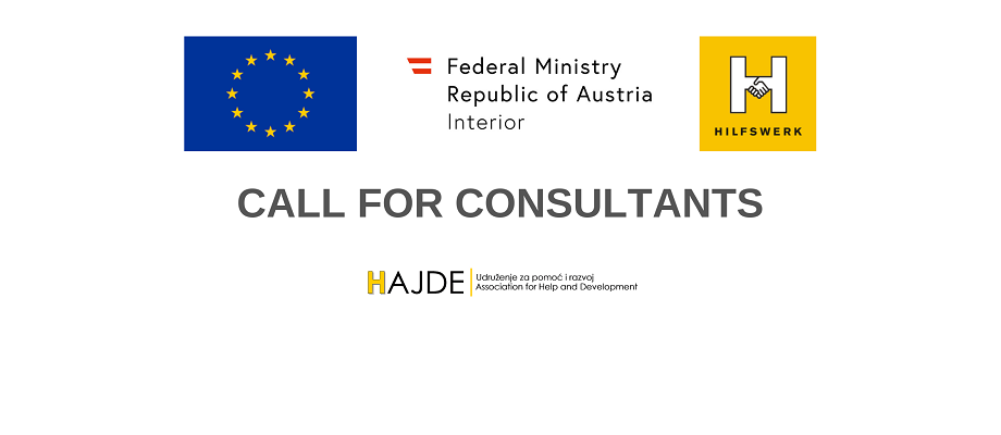 CALL FOR CONSULTANTS - FOR EXPRESSION OF INTEREST