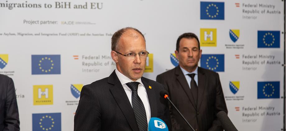 Hilfswerk International supports diplomatic dialogue regarding international support to BiH in the management of irregular migration
